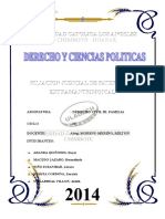 Monografia Derecho Civil - Filiacion Extramatrimonial