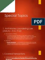 RFBT Special Topics