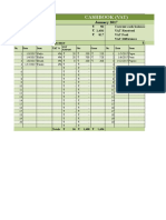 Cash Book Template VAT