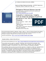 An Empirical Analysis of Political Dynas