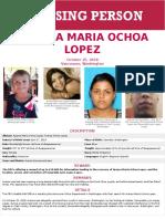 Aranza Missing Person