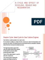 Brayton cycle reheat regen recolling.ppt