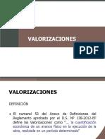 Valorizaciones