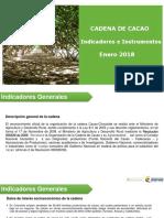 002 - Cifras Sectoriales - 2018 Enero Cacao