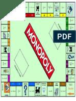 Tablero Del Monopoly de Ecuaciones