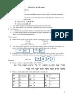 LECCIÓN III hebreo.docx