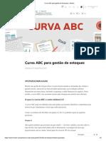 Curva ABC - Estoque