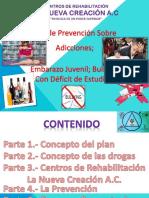 Proyecto preventivo de adicciones