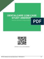 IDb1fe71ce5-dentalcare com case study answers