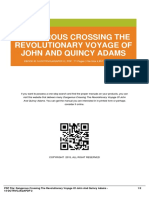 IDc3e9b690b-dangerous crossing the revolutionary voyage of john and quincy adams