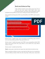 Cara Membaca Hasil atau Keluaran Ping.docx