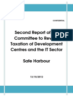 Second Report of the Rangachary Committee on Safe Harbours
