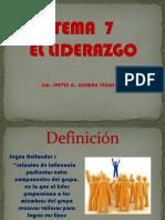 El Liderazgo t7