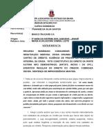 14 G 0000628-80.2016.805.0141  VOTO EMENTA NEGATIVAÇÃO AUSÊNCIA PROVAS QUITAÇÃO ACORDO  IMPROC.doc