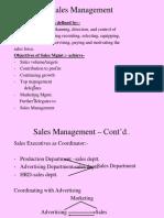 Sales & Distribution Mgmt 1