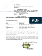 Surat Pernyataan PQ