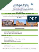 Europe - 9N10D - Milan to Paris - FIT