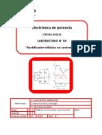 Lab04 - Rectificador Trifasico No Controlado