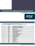 B- Raw Material Specification