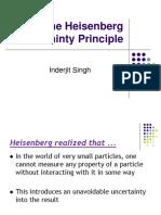 The Heisenberg Uncertainty Principle Final 2014