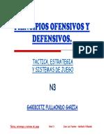 Principios Ofensivos y Defensivos.