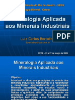 Mineralogía Aplicada a la Industria