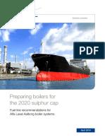 Preparing Boilers for the 2020 Sulphur Cap
