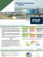 Resource efficiency in Aluminium Sector