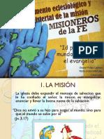 ACT 1 Fundamento Eclesiológico y Magisterial de La Misión