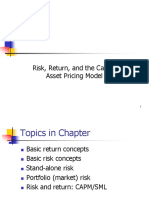Risk Return and CAPM