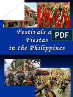 Festivals and Fiestas in the Philippines