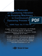The Rationale of Monitoring Vibration on Rotating Equipment