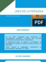 Clase 1 dimensiones de la persona