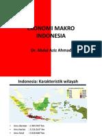 Ekonomi Makro Islam - 1. Pengantar Ekonomi Makro Indonesia