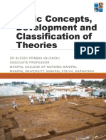 Basic Concepts,Development & Classification of Theory