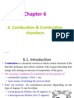 6. Combustion & Combustion Chamber