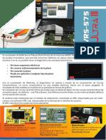 Localizador de Defectos VRS-575 Ultra III (Espanol)