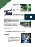 Ecosistemele acvatice se clasifică în ecosisteme de ape curgătoare.docx