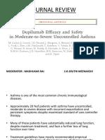 Duplimuab Efficacy in Asthma