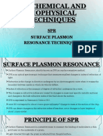 Surface Plasmon Resonance Spectroscopy - SPR