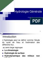 Hydrologie chapitre 1.pptx