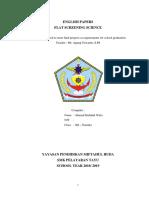 Ilmu Pelayaran Datar Bahasa Inggris by Dya Indah