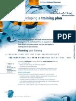 11 Developing a Training Plan 0
