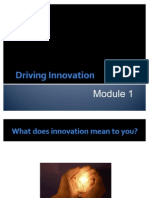 GI. Module 1. Driving Innovation