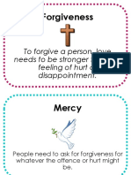 forgiveness and mercy posters