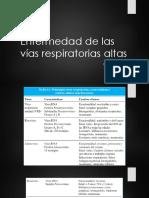 Enfermedad de Las Vías Respiratorias Altas