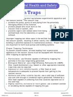 Vacuum Traps