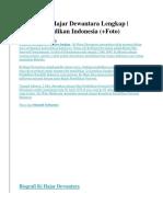 Biografi Ki Hajar Dewantara Lengkap.docx