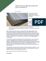 Chromebook Com Opção de Segurança de Sistema Operacional
