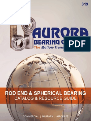 Aurora Bearing Company MW-6T Grade: Precision Shank Thread Size: 3//8-24 Self-Lubricating Female Threaded Right Hand Spherical Rod End Bore Diameter: 0.3750 in